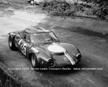 Ginetta G12. photo. Peter Varley. Great Auclum Hillclimb 1970